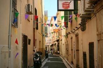 Цветна и уютна улица в центъра.