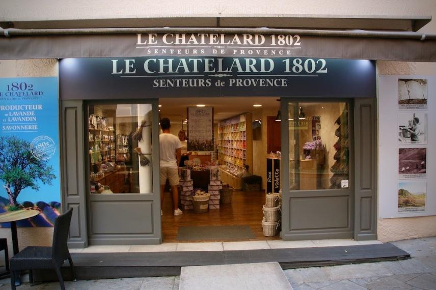 Магазина на Le Chatelard 1802.