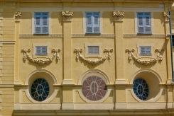 Фасада на сграда в стария град.