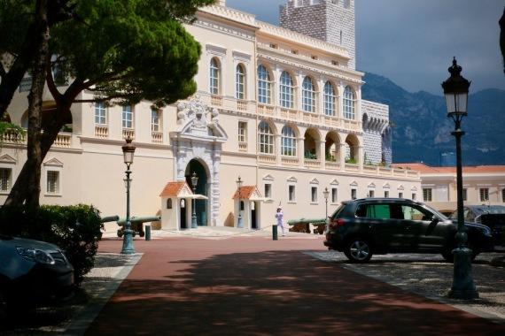 Двореца на принца на Монако.