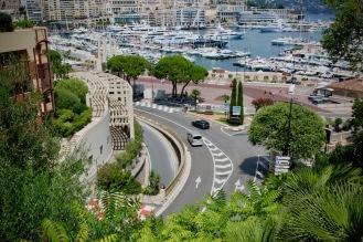 Известна гледка за феновете на Гранд при на Монако.