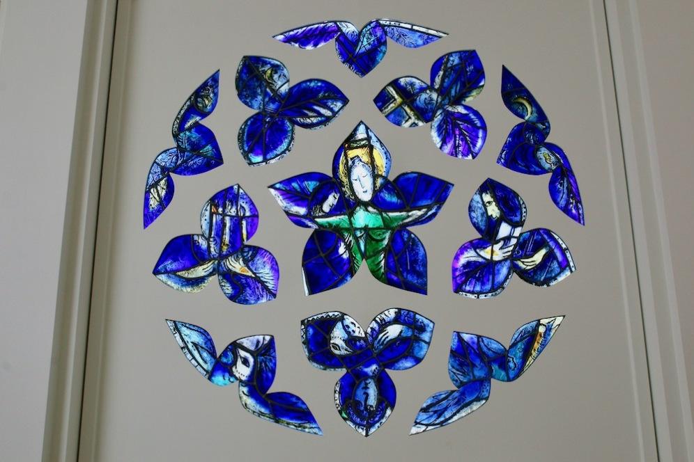В музея Шагал.