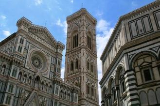 Катедралата Санта Мария дел Фиоре, Камбанарията и Баптистерий.