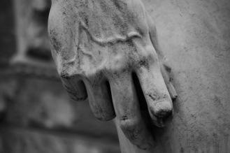 Детайл от статуята на Давид.