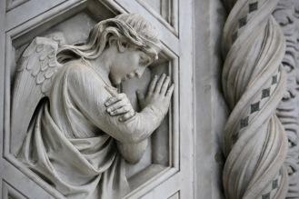 Детайл от фасадата на Санта Мария дел Фиоре.