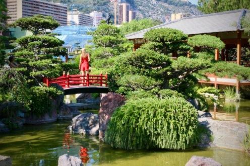 Японската градина.