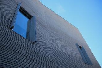 Новата сграда на музея на изкуството в Базел.
