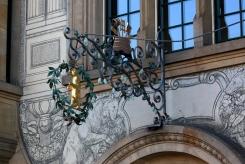 Емблема на заведение в Базел.
