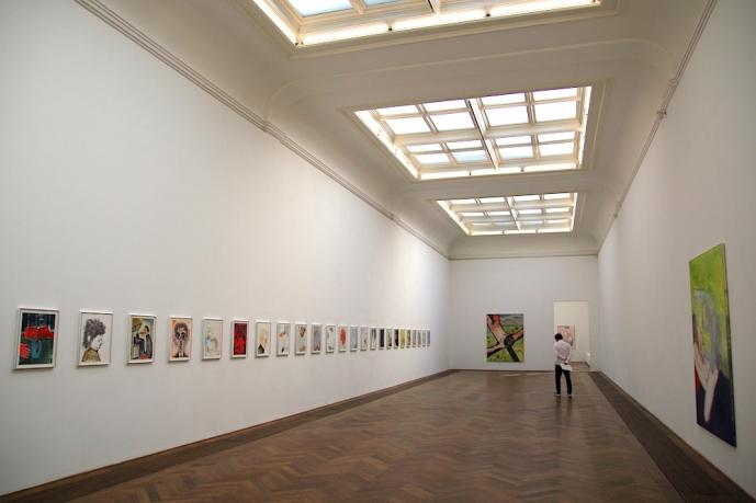 Изложба на Саня Кантаровски в Кунстхале Базел.