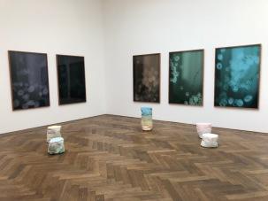 Част от изложбата на седем стипендианти в Кунстхале Базел.