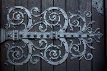 Детайл от портата на катедралата Мюнстер.