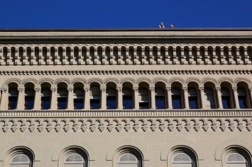 Федералния дворец на Швейцария.