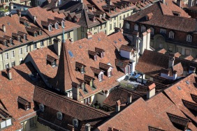 Покривите в Берн.