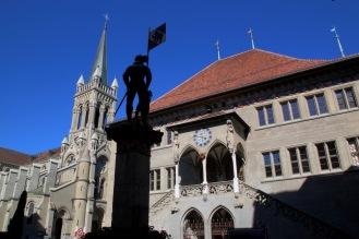 Кметството на Берн.