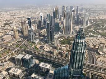 Дубай от Бурж Халифа