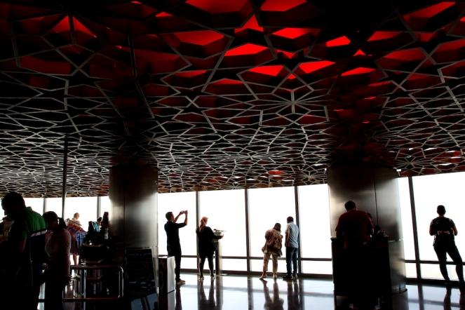 Бурж Халифа на 124 етаж