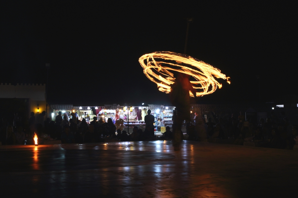 Въртене на огън
