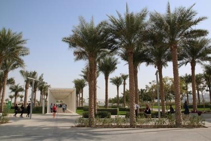 Входа на Лувъра в Абу Даби