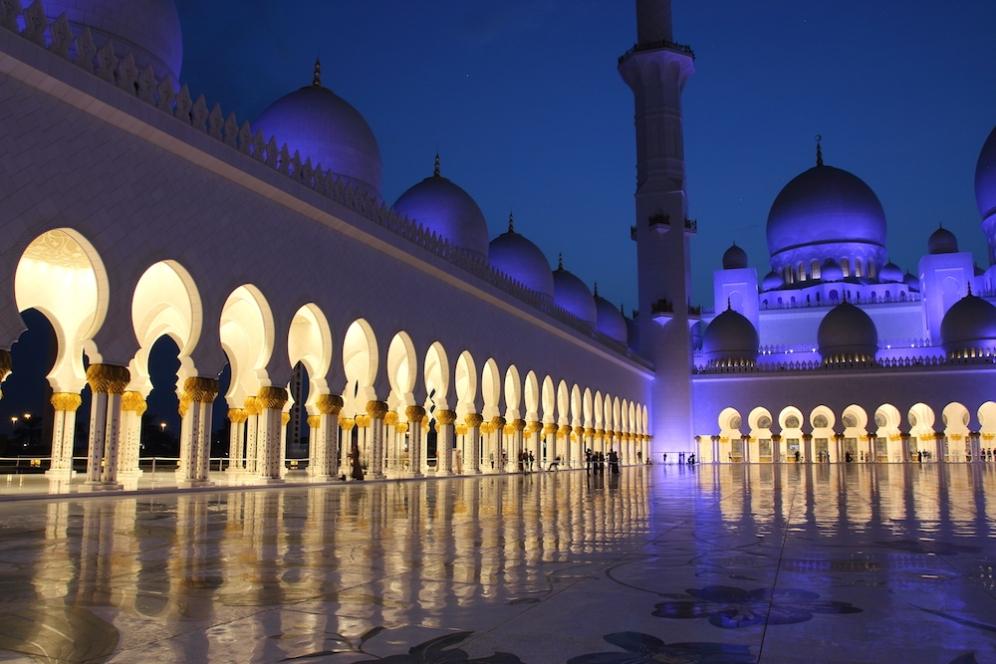 Арабска приказка с име Голямата джамия Шейх Зайед