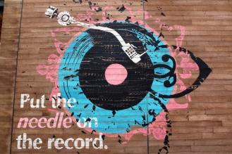 Графитите в La Mer