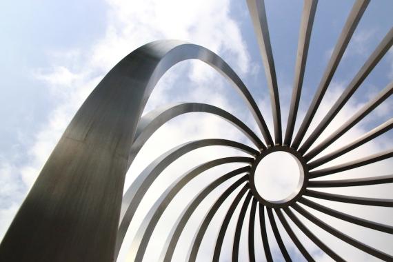 Скулптура в Сити уолк Мол