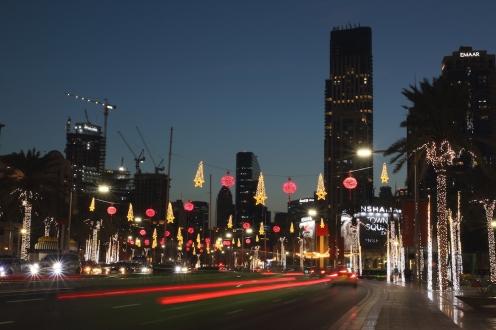 Центъра на Дубай