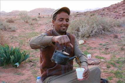 Чай приговен специално за нас от местните.