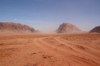 Пясъчната буря.