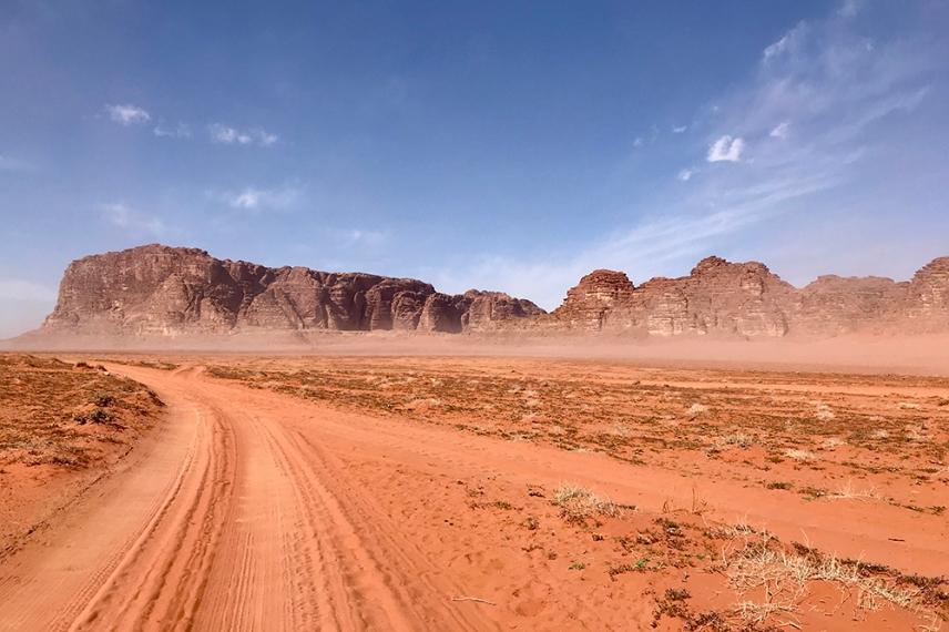 Пустинята Вади Рум.