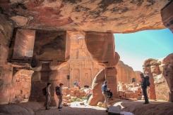 Един от храмовете отвътре.