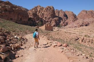 Ксар ал Бинт - главният и най-важен храм в Петра.