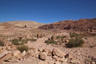 Гледката от Ксар ал Бинт.