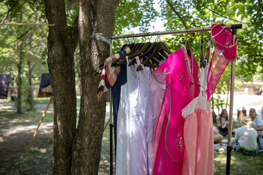 Корейски костюми, с които може да се снимате.