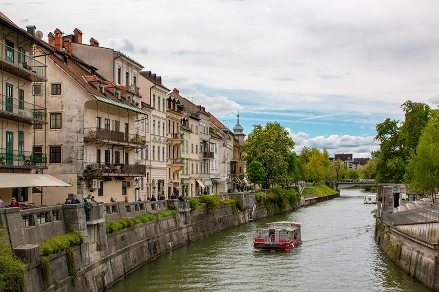 Река Любляница.