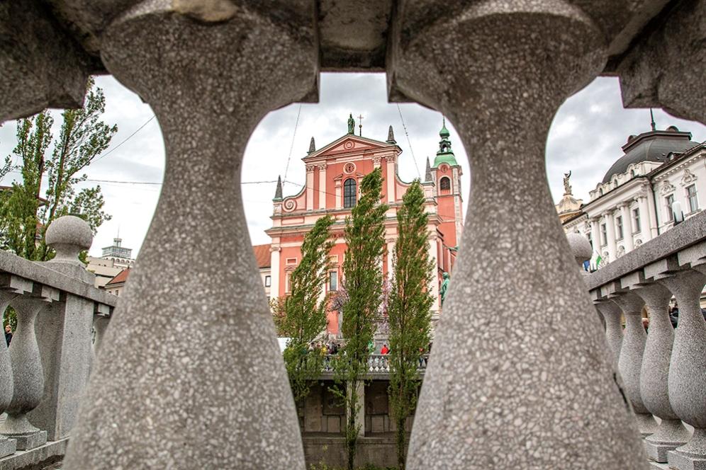 Францисканската църква.