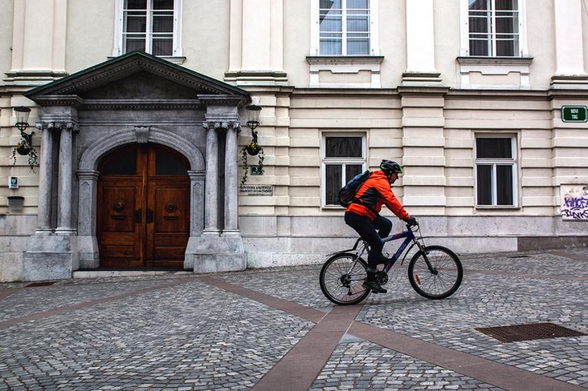 Чистотата в Любляна е безупречна.