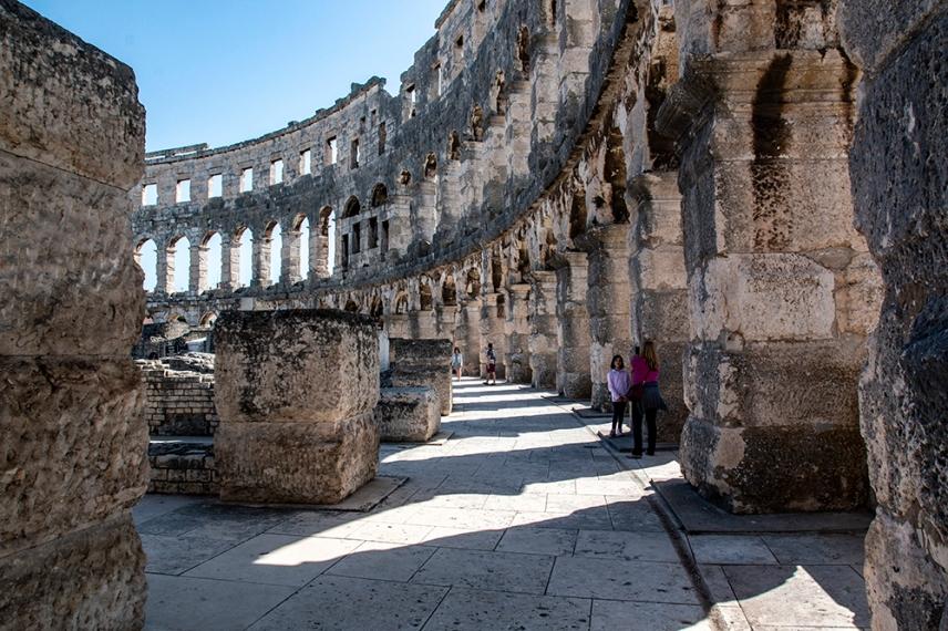 Тази антична, изключителна структура е запазена в много добро състояние.