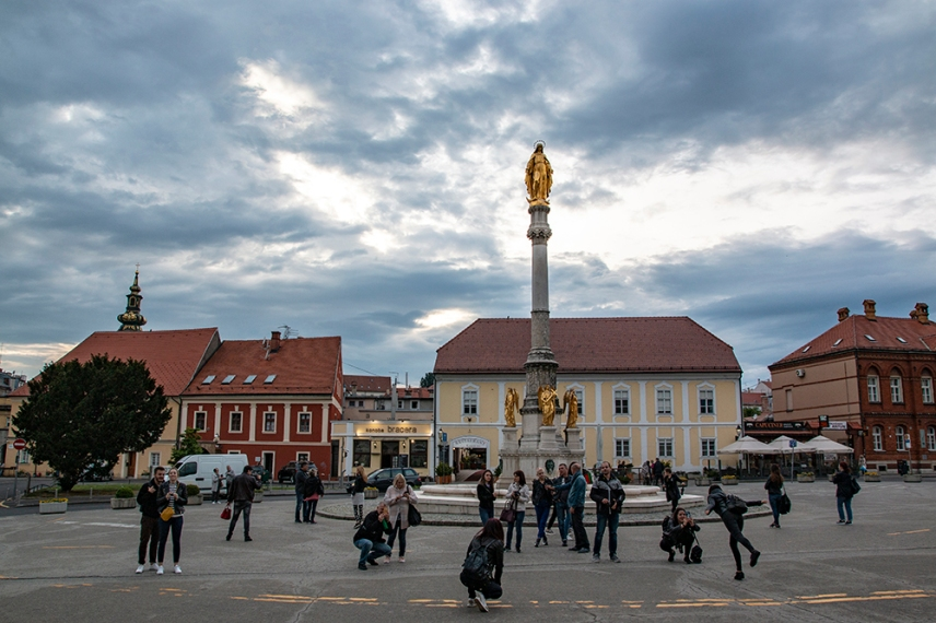 Площад Каптол, Загреб.