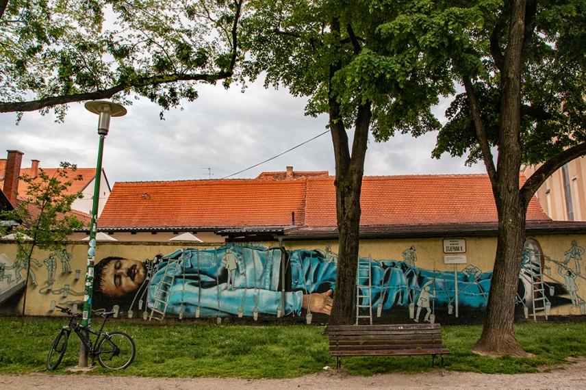 Графити в стария град.