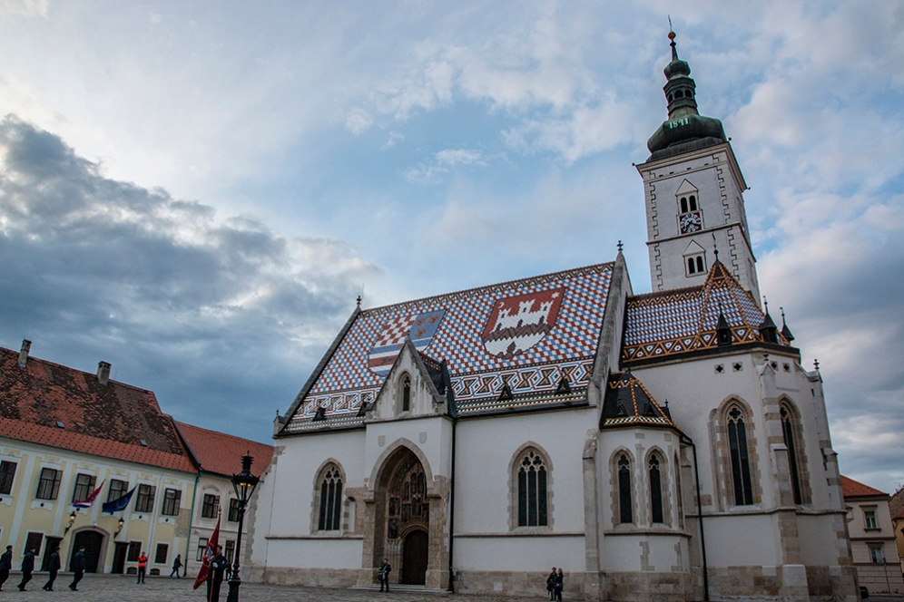 Църквата Св. Марк, Загреб.