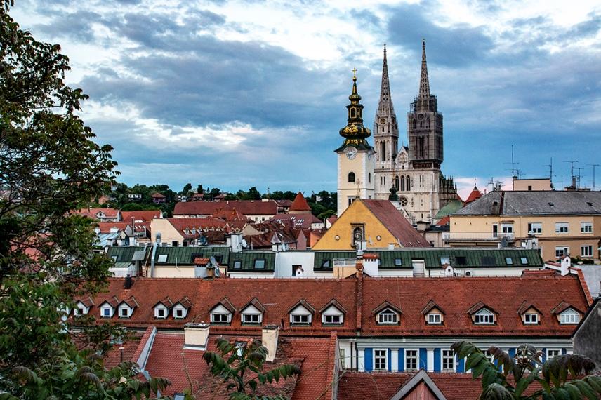 Катедралата на Загреб - Възнесение Богородично.