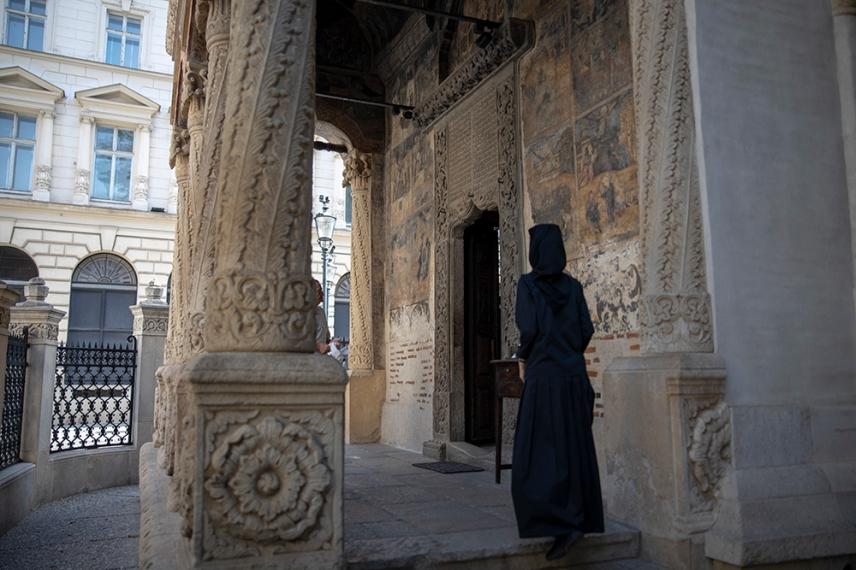 Църквата на манастира Ставрополеос.