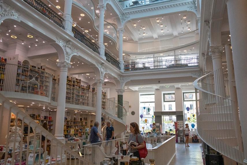 Книжарница Cărturești Carusel.