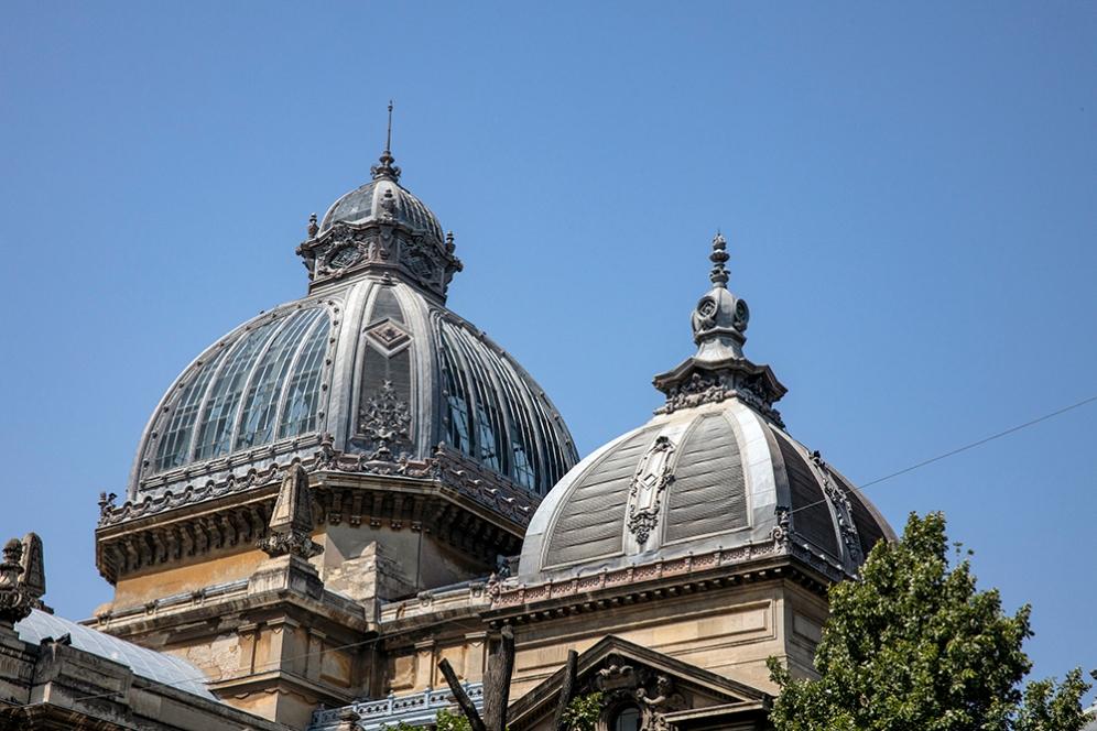 Куполите на сградата на Спестовната каса.