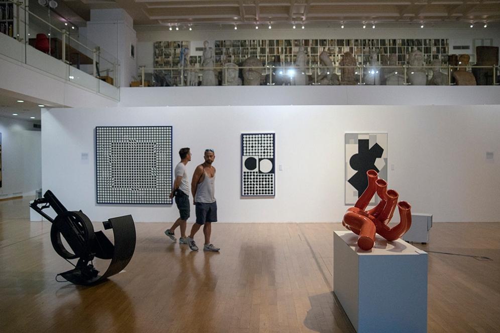 Изложбата: Renault и изкуството, една жива история, 1967-2019.