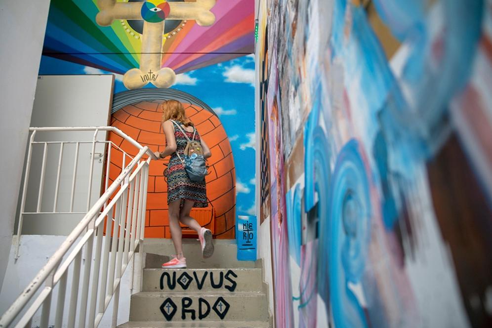 Изложбата Градски стъпки, Powered by MOLOTOW.