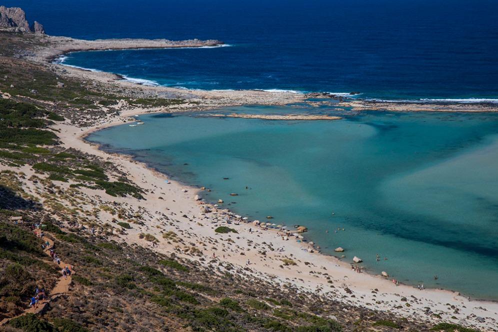 Лагуната Балос и най-красивият плаж на остров Крит.