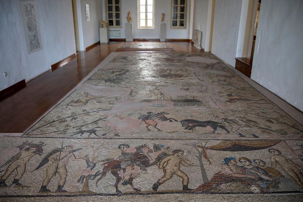 Археологическият музей в Кисамос.