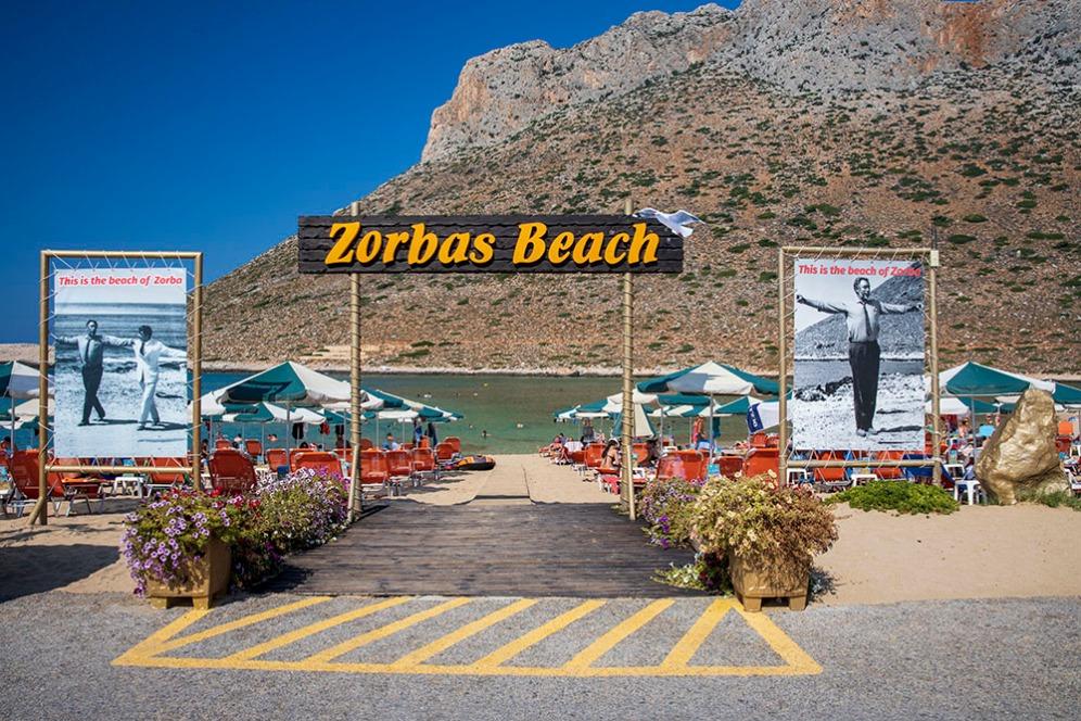 Ставрос и плажа Зорба.