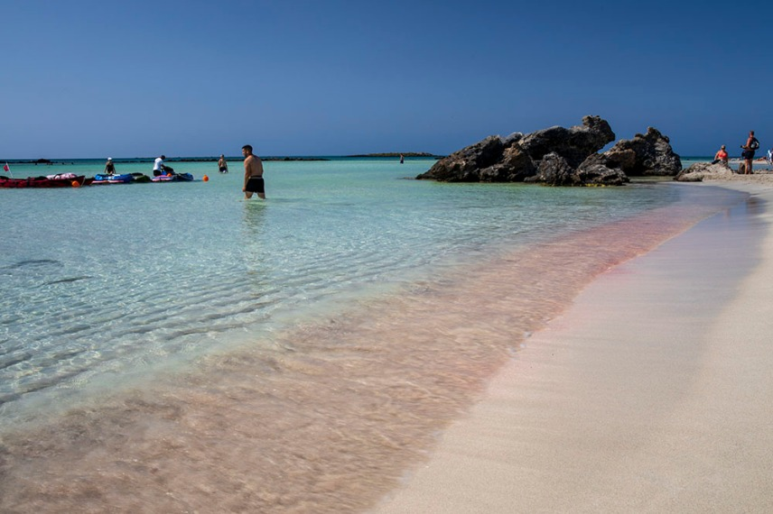 Един от плажовете на остров Елафониси.